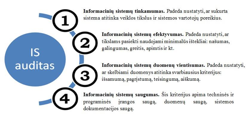 informainiu sistemu auditas